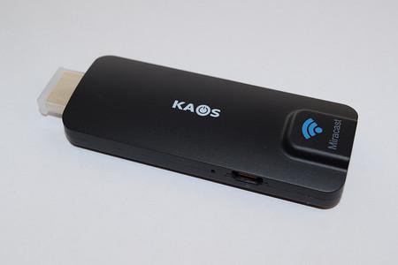 KAOS Miracast Dongle: Receptor Wi-Fi de contenidos multimedia, A fondo