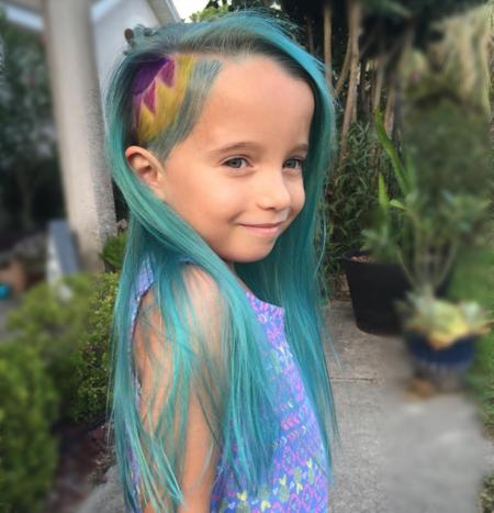 Colores de pelo de unicornio