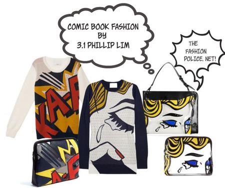 La nueva colección de Phillip Lim inspirada en el mundo del comic