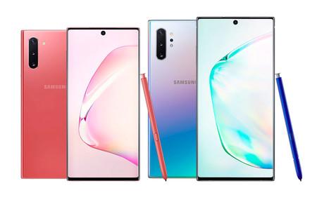 Samsung Galaxy Note 10 y Note 10+: menos marcos, mejor S Pen y más cámaras que nunca en los Note de la era 5G