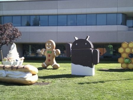 Ice Cream Sandwich ya está en GooglePlex