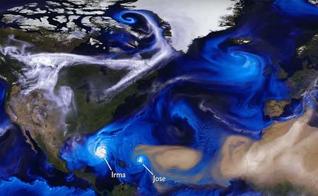 La flipante visualización de la NASA que ilustra cómo nacen y mueren los huracanes atlánticos