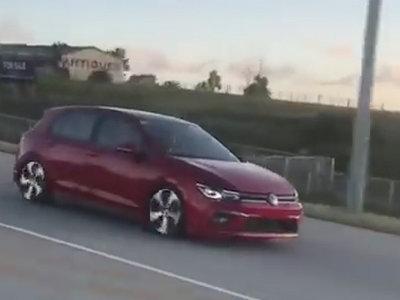 ¡Espiado! El Volkswagen Golf 2020 no se escapa de los paparazzi (actualizado con nuevo video)