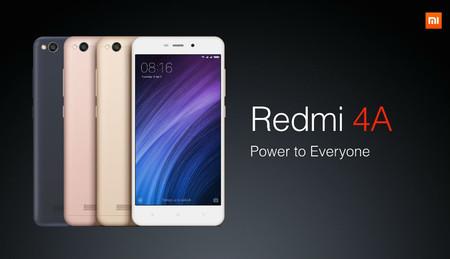Xiaomi regresa a Amazon: Redmi 4A por 118,99 euros y envío gratis