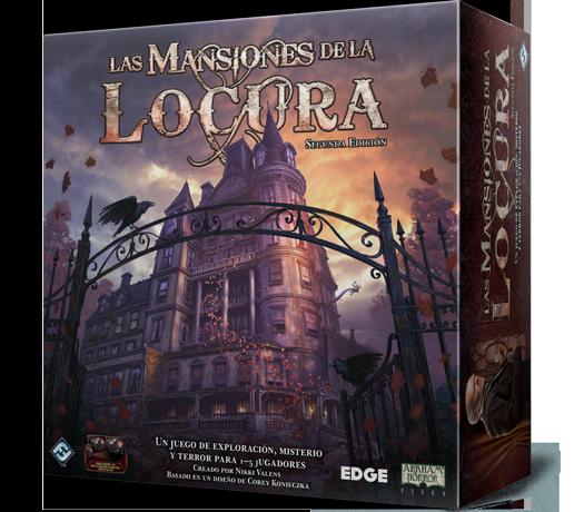 Portada segunda edición de Las Mansiones de la Locura
