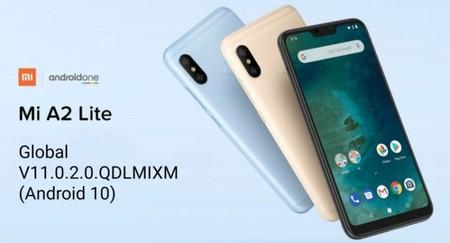 Android 10 para el Xiaomi Mi A2 Lite
