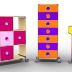 Foto 1 de 5 de la galería trax-coleccion-de-muebles-de-almacenaje-de-foppapedretti en Decoesfera