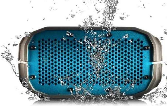 Resistencia IPX5 al agua y salpicaduras del BRV-1