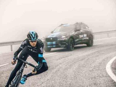 El Jaguar F-Pace sigue a Chris Froome en el Tour de Francia