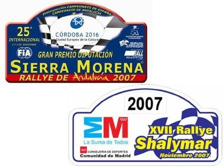 Sierra Morena y Shalymar al Nacional de Rallyes