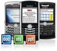 Documents To Go para BlackBerry