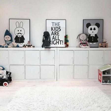 Estampados gr ficos en blanco y negro para decorar el for Idea deco en blanco y negro