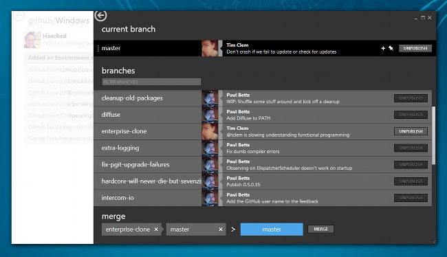 GitHub for Windows 1.0