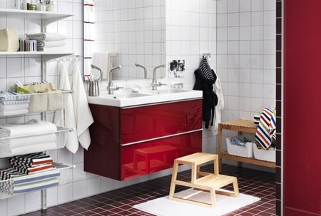 Muebles auxiliares de cocina ikea for Decoracion banos ikea