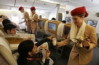 Emirates busca azafatas en Rosario, Argentina.
