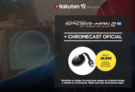 ¿Llegaste tarde la última vez? Vuelve la oferta del Google Chromecast por 28,99 euros y envío gratis