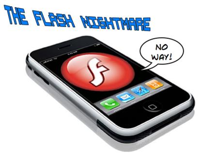Rumor: Nunca habrá una versión de Flash para el iPhone