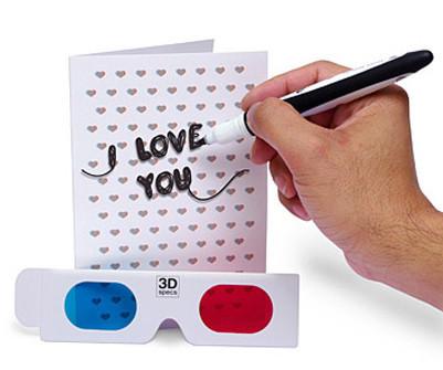 San Valentín: Tarjeta en 3D