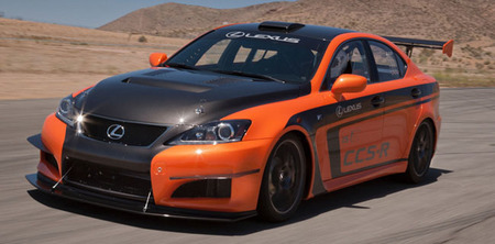 Lexus IS F CCS-R, directo a Pikes Peak