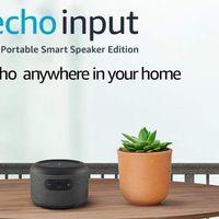 Echo Input: el nuevo altavoz de Amazon lleva batería incorporada para que nos olvidemos de los enchufes