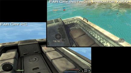 Vídeo comparativo de Far Cry, PC y Xbox 360