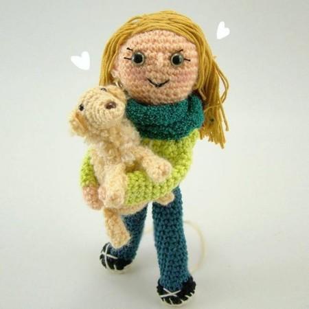 Lalala Toys, preciosos muñecos personalizados tejidos a mano