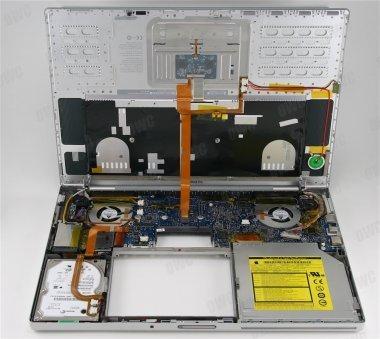 MacBook Pro, diseccionado