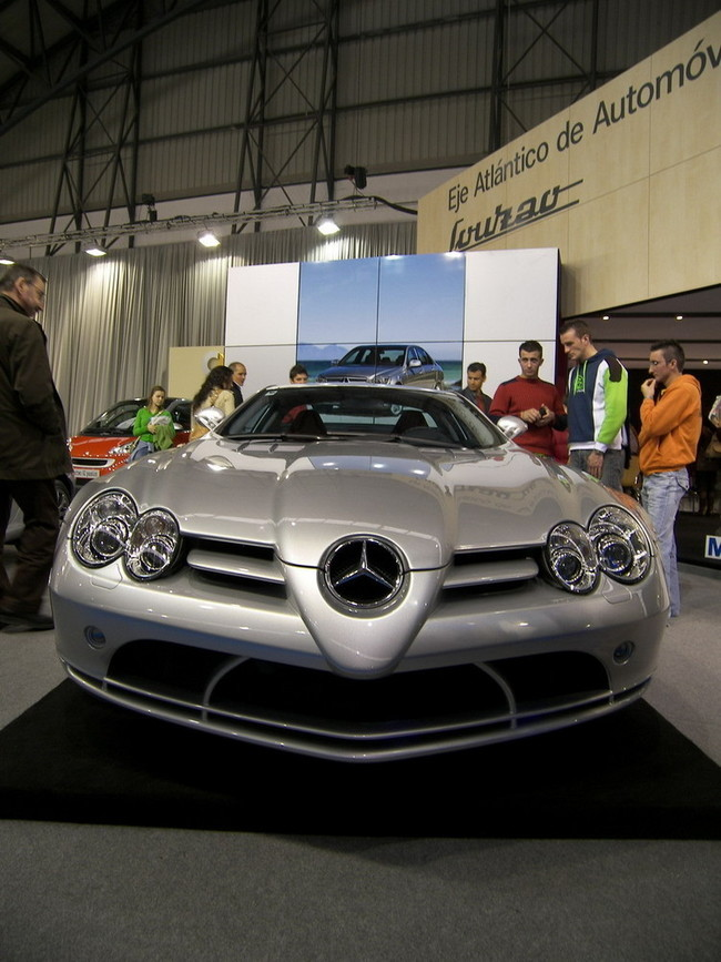 Mercedes SLR McLaren en el Salón de Vigo