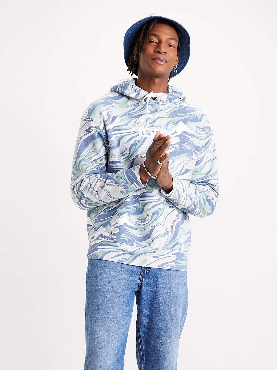 Sudadera de colores con capucha