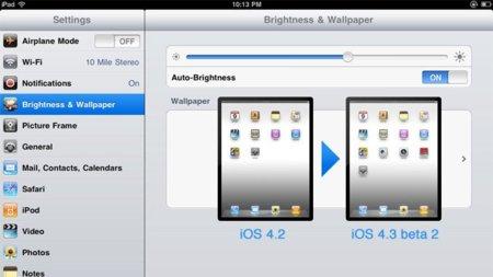 Apple lanza la segunda beta de iOS 4.3, FaceTime, Photo Booth y Cámara llegan al iPad pero los nuevos gestos podrían no hacerlo