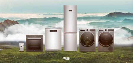 Beko presenta sus nuevas lavadoras, hornos, secadoras, frigoríficos, lavaplatos y cafeteras fabricados con materiales reciclados
