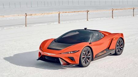 Este GFG Style Kangaroo es el 'Hyper SUV' de Giugiaro: un superdeportivo eléctrico 4x4 con altura regulable