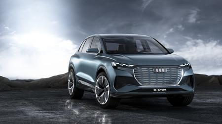 El Audi Q4 e-tron Concept anticipa un SUV compacto, eléctrico y muy llamativo