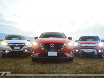 Comparativa: Mazda CX-3 vs Suzuki Vitara vs Honda HR-V (III)