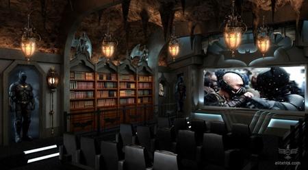Salas de cine en casa espectaculares: la batcueva en todo su esplendor