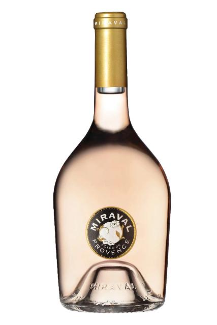 Vino rosado Miraval Côtes de Provence