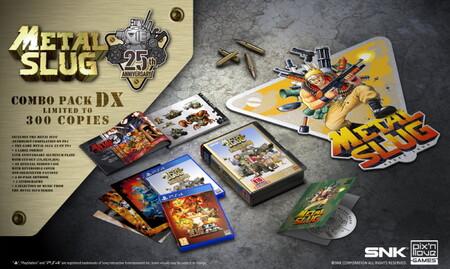 Si nunca tuviste un cartucho de Metal Slug para NeoGeo, ahora tienes esta antología para PS4 a precio más económico