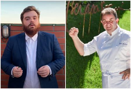 """Martín Berasategui habla sobre la comida en Lasarte de Ibai y su cuadrilla en chándal: """"Que gente más maja"""""""