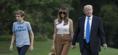 """Melania se muda (por fin) a la Casa Blanca y su look de """"mudanza"""" es así de divino"""