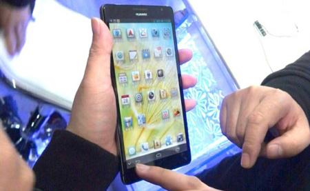 El Huawei Ascend Mate y sus 6,1 pulgadas se dejan ver unas semanas antes del CES
