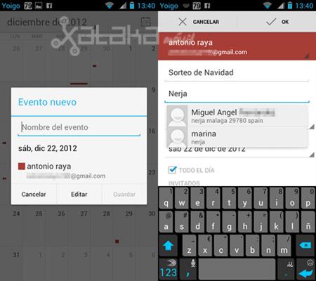 Google Calendar para Android se actualiza con sugerencias y nuevas notificaciones