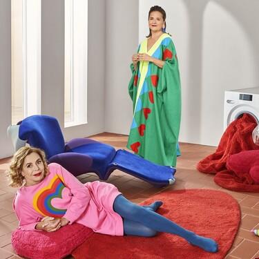 Lorena Canals y Agatha Ruiz de la Prada lanzan una alfombra solidaria para luchar contra el cáncer de mama