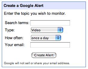 Google Alerts ahora monitoriza vídeos