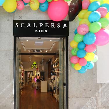 Scalpers Kids abre las puertas de su primera tienda en exclusiva para los peques de la casa en Madrid