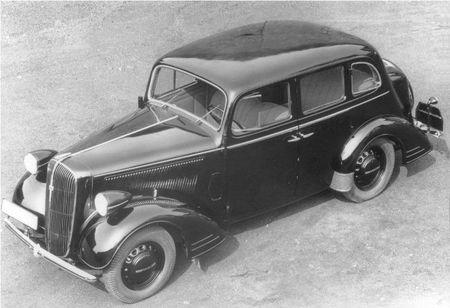 Opel Súper 6 Sedán