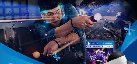 El pack de PlayStation VR incluye ahora la cámara y PS VR Worlds por 399,99 euros