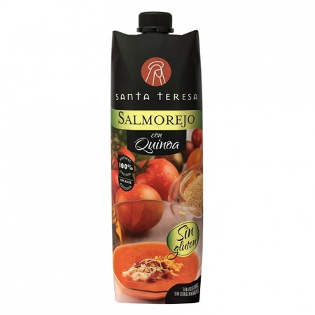 Salmorejo Con Quinoa Santa Teresa Sin Gluten