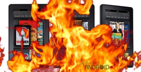 El Kindle Fire se estrella a principios de 2012