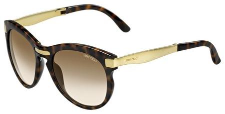 Colección LANA de Jimmy Choo...las gafas de sol plegables de la alfombra roja