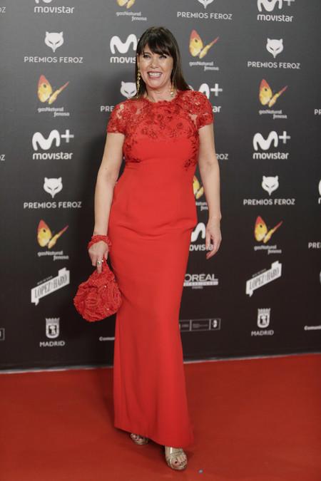 premios feroz alfombra roja look estilismo outfit Mabel Lozano